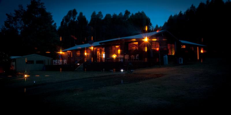 Nighttime in the Southern Hemisphere
