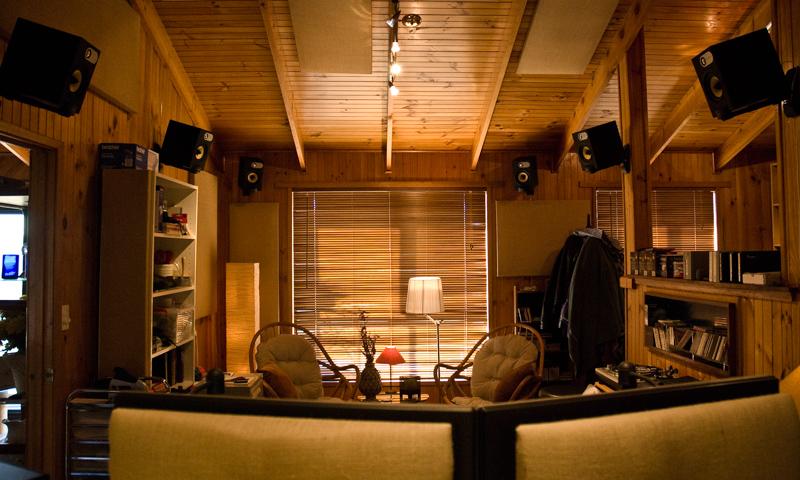 Sunny Hills Studios Mixing Suite - Reverse View