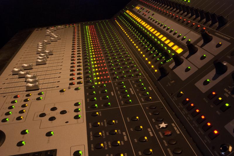 Sunny Hills Studios Control 24 Mixing Console